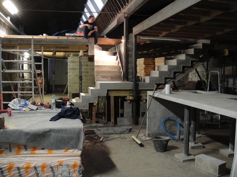Escalier - Fabriquer un escalier en beton ...